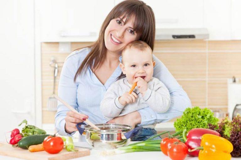 Диета кормящей мамы / Диета при грудном вскармливании